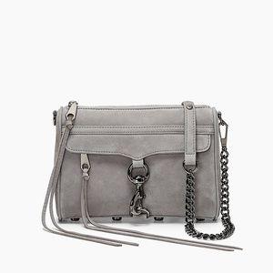 NWTs REBECCA MINKOFF • Mini MAC Grey Crossbody Bag